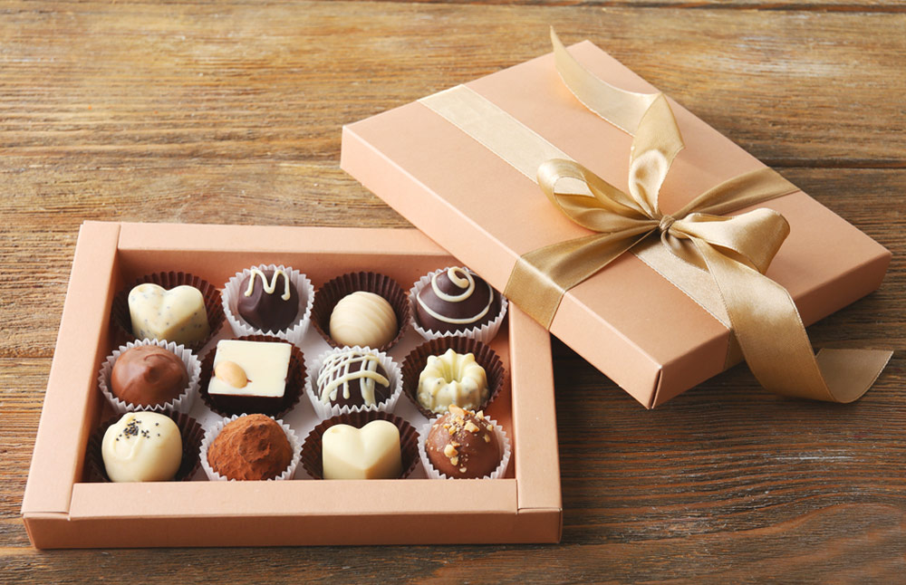 BOXES FOR CHOCOLATES